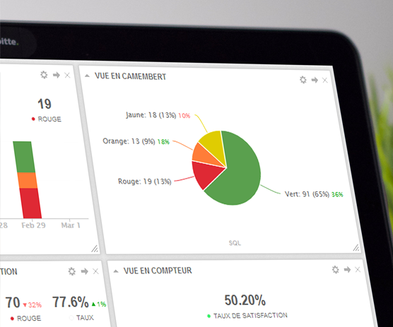 Tableaux de bord Skiply pour le suivi des indicateurs de performance en temps réel