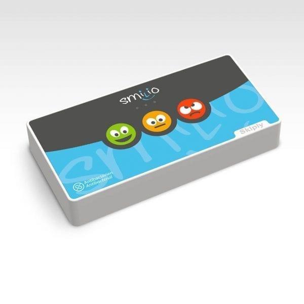 Skiply, borne de sondage 3 smileys, survey terminal