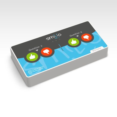 Skiply, borne de sondage Smilio 4 pouces - survey terminal 4 thumbs