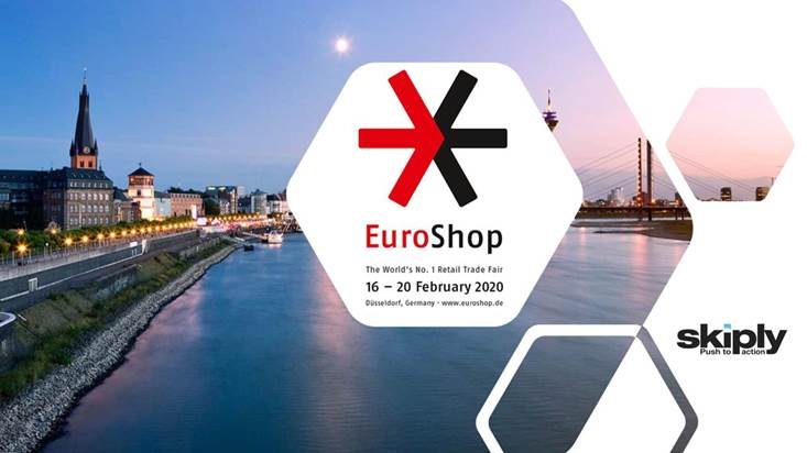 Skiply actualité salon Euroshop