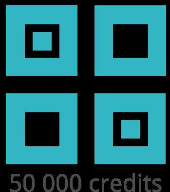 Pack de 50 000 crédits Ubiqod