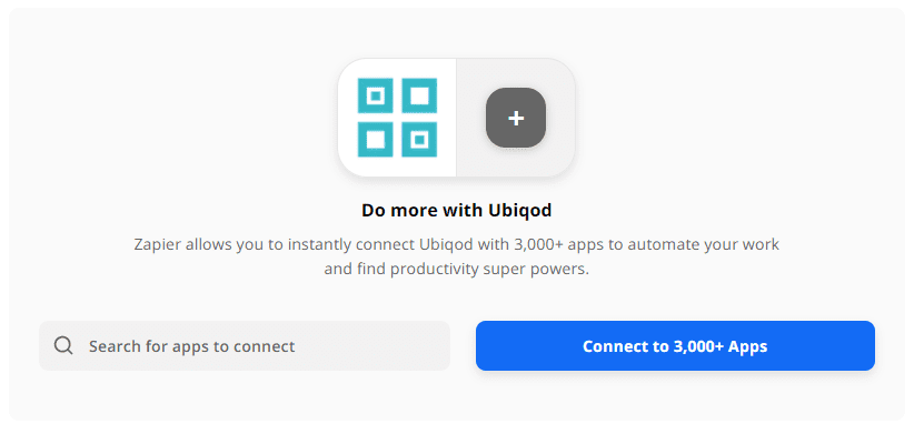 Zapier for IoT buttons with Ubiqod
