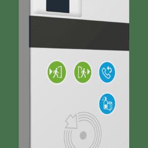 Pointeuse RFID sans fil connectée